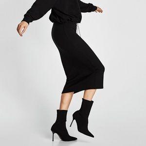 ⏰LAST CHANCE⏰ ZARA Knit Slim Pencil Midi Skirt